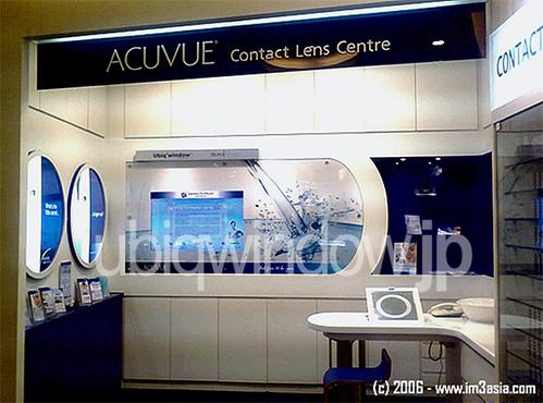 Acuvue Shop at VivoCity