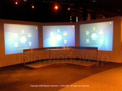 Ubiq`window AirStrike at Singapore Science Center